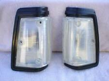 LIQUIDATION Reproduction Black Clear Side Marker Lights 1980 1983 Datsun 720