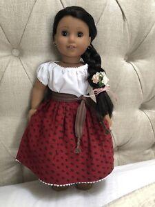 American Girl Josefina Doll in Original Meet Outfit EUC