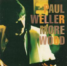 Paul Weller More Wood Japan CD 12 Trx 1993 No Obi Indie Rock Jam Style Council