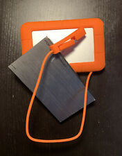 LaCie Rugged USB 3.0 Thunderbolt 2TB External HD, With Cables & FREE 500GB EHD