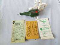 Burgess Vibro-Marker Vintage Model V60 Engraver Original Box w/ Instructions