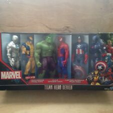 Marvel Titan Hero Series Target Exclusive Wolverine Hulk Iron Man Spider Man...