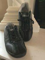 Perry Ellis America Fusion Athletci Black  Leather Sneaker, Tennis, Golf Shoe