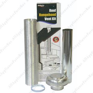 Rangehood Semi Rigid Roof Venting Kit – 150mm RHK150T