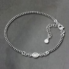 Bracciali di lusso con gemme diamante argento sterling
