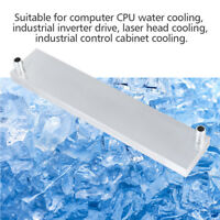 Aluminum Heat Sink Water Cooling Block Radiator PC CPU Cooler Heat Sink 40x200mm