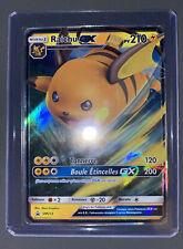 Carte Pokémon Raichu GX SM213, promo, Destinées Occultes, neuve, France