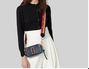 Marc Jacobs Snapshot Small Camera crossbody bag -blue multi sales