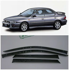 For Subaru Impreza I Sd 1992-2000 Window Visors Sun Rain Guard Vent Deflectors