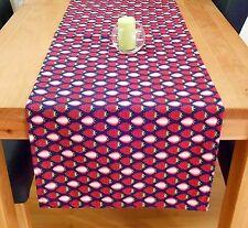 *Tischläufer Erdbeeren*, Sommer, 44 x 148 cm, edel, handgefertigt -Neu