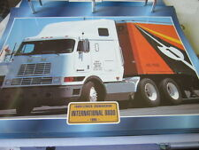 Super Trucks Frontlenker USA International 9800, 1985