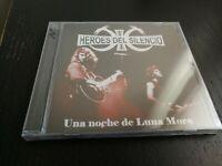 HEROES DEL SILENCIO - UNA NOCHE DE LUNA MORA - CD SILVER- NUEVO ED. LIMIT NUM 19