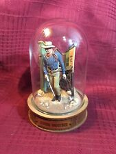 Franklin Mint, Glass Domed John Wayne Movie Collectible- B7899 Carrys Saddle Pac