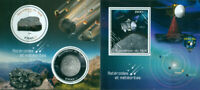 Meteorites Space Asteroids Minerals MNH stamp set