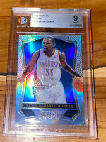Pop 1!🔥2013-14 Kevin Durant PANINI SELECT SILVER PRIZM REFRACTOR #136 BGS 9 PSA
