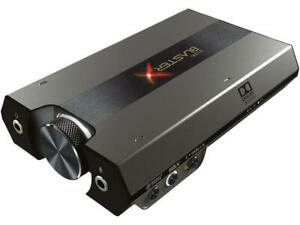 Creative Sound Blaster Sound BlasterX G6 External Sound Box Model 70SB177000000