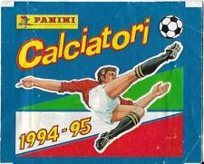 BUSTINA FIGURINE CALCIATORI PANINI 1994-95 OMAGGIO ACQUA VERA PIENA