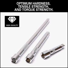 3pc 38 Long Extension Bar Set Drive Ratchet Socket Wrench 3 6 10