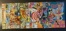 Marvel Comics Lot - 1988/1998 - Barbie, Iron Man, Cyberspace 3000 - VF+/NM+