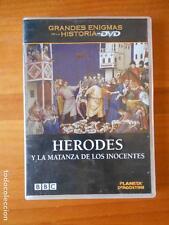 DVD HERODES Y LA MATANZA DE LOS INOCENTES - GRANDES ENIGMAS DE LA HISTORIA (Q6)