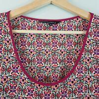 [ WHISTLE ] Womens S/S Print Dress | Size AU 14