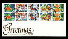 1989 GB, Greetings Stamps,  First Day Cover
