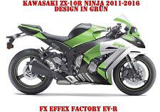 FX  FACTORY DEKOR GRAPHIC KIT KAWASAKI NINJA 250,350,650,ZX-6R,ZX-10R EV-R B
