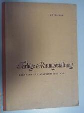 Farbige Raumgestaltung Oskar Zwinscher Fachbuch Farbauswahl Anstreichtechnik