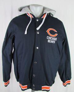 Chicago Bears NFL G-III Superbowl XX Men's Full-Zip/Button up Hooded Jacket