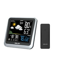 BALDR B336 Color LCD Weather Station Wireless Indoor/Outdoor Temperature Meter
