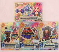 "Trading Card of Japanese Animation idol ""AIKATSU"" Premium Musical Scorpio Coord"