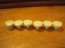 X=6 OLD DASH SWITCH KNOB SET HEADLIGHT HEATER FOG LAMP ART DECO RAT ROD HOT SCTA