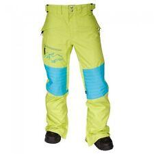 2013 NWOT AIRBLASTER DOUBLE DAFFY PANTS mens M Slime $210 BRAND NEW jacket