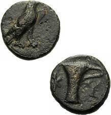 KYME aiolis Bronzo 300-250 A.C. Adler kyathos VASO COPPA GNS V. grandezza 1625.