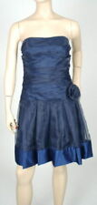$288 NEW MAX&CLEO BY BCBG STRAPLESS ORGANZA DRESS 6