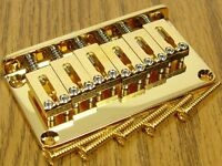 NEW Gotoh Strat Tele Hardtail GOLD BRIDGE for Fender Stratocaster Telecaster