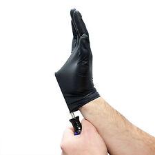 Nitrile Gloves Medium Black (100 Pk) 6ml Pesticide Gloves Medical Gloves 5.5 pH