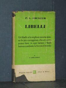 P. L. Courier - Libelli - Muggiani, I Coriandoli 8 - Prima ed., 1945