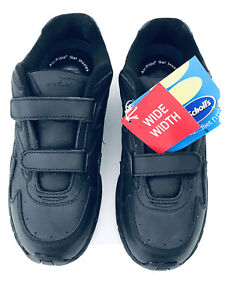 NEW Dr Scholls Womens 206z38 Walking Shoes Sz 8W Black Stability Bridge Caprice