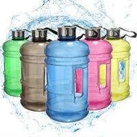 2.2L Large BPA Free Sport Gym Training Drink Water Bottle Cap Kettle Camping Jug