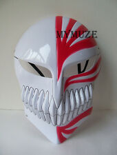 Red Bleach Ichigo Kurosaki Mask Bankai Hollow Cosplay Full Masque
