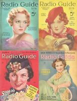 259 OLD ISSUES OF RADIO GUIDE - STARS SHOWS PROGRAMS MAGAZINE (1932-1938) ON DVD