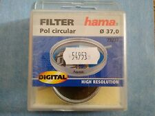 HAMA Filtre Photo vidéo Polarisant Circulaire Diamètre 37 mm