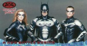 BATMAN AND ROBIN WIDEVISION  70 CARD SET BY SKYBOX