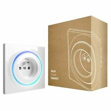 FIBARO Walli Outlet Type E / Prise Murale Intelligente Type E, Z-Wave +