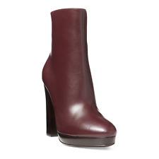 Ralph Lauren Purple Label Geila Bordeaux Leather Boots New