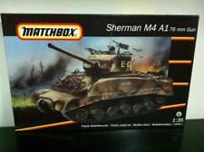 Matchbox Kit de montage 1:35 40712 SHERMAN M4 A1 76mm GUN Réservoir MIB, 1993