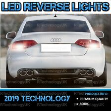 PREMIUM AUDI A4 B8 B9 White LED XENON Reverse Light Bulbs Upgrade