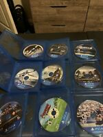 PS4- Sony PlayStation 4- Video Games Lot Bundle- 19 Games- NO CASES- (Disk Only)