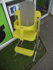 Display Brevi Slex Highchair  High Low Baby Childs High Chair